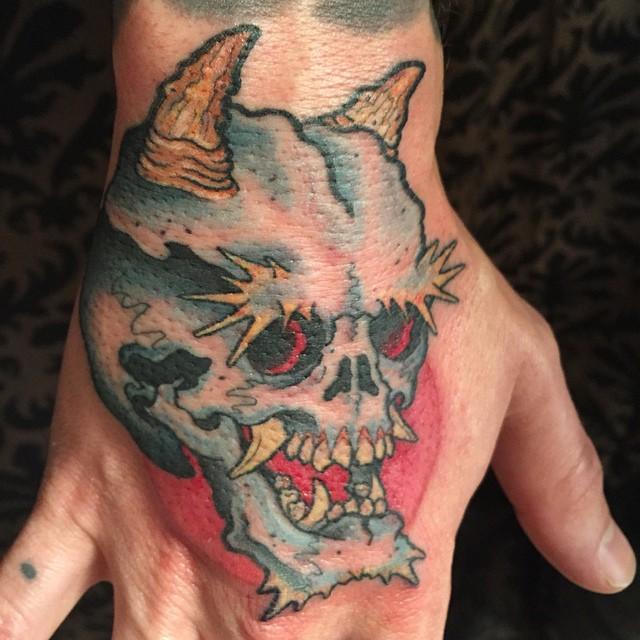 Oni Skull by Jason Kundell