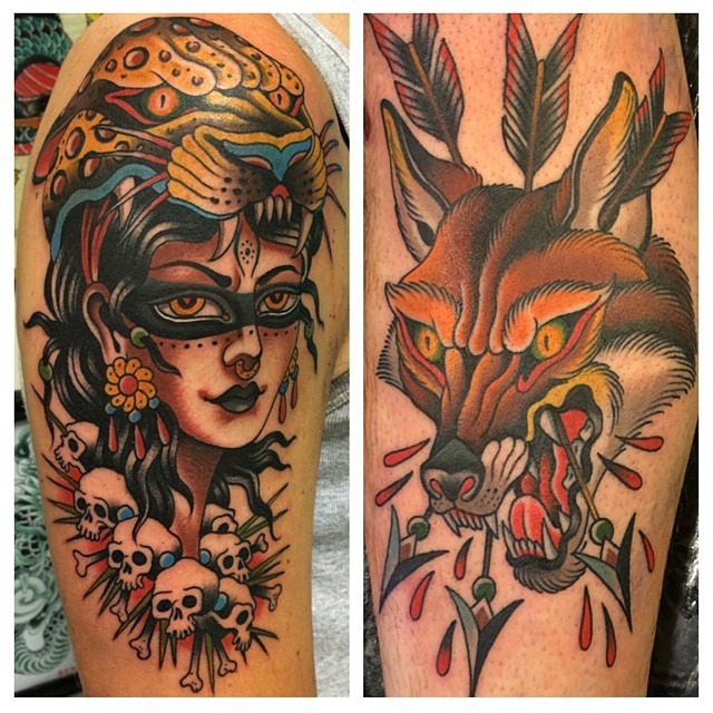 Tattoos by Gordon Combs
