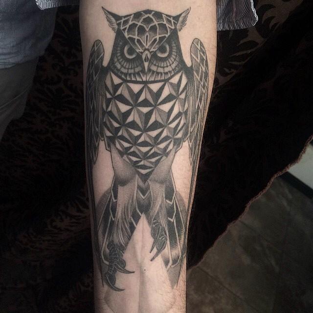 Healed tattoo by Jeff P