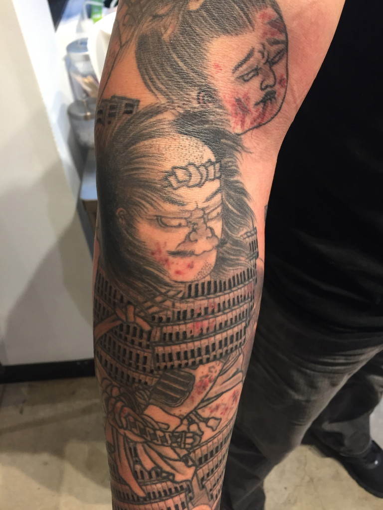 Samurai detail by Jason Kundell