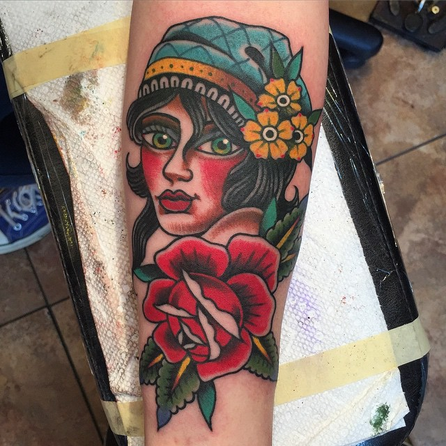 Tattoo by Ross Carlson