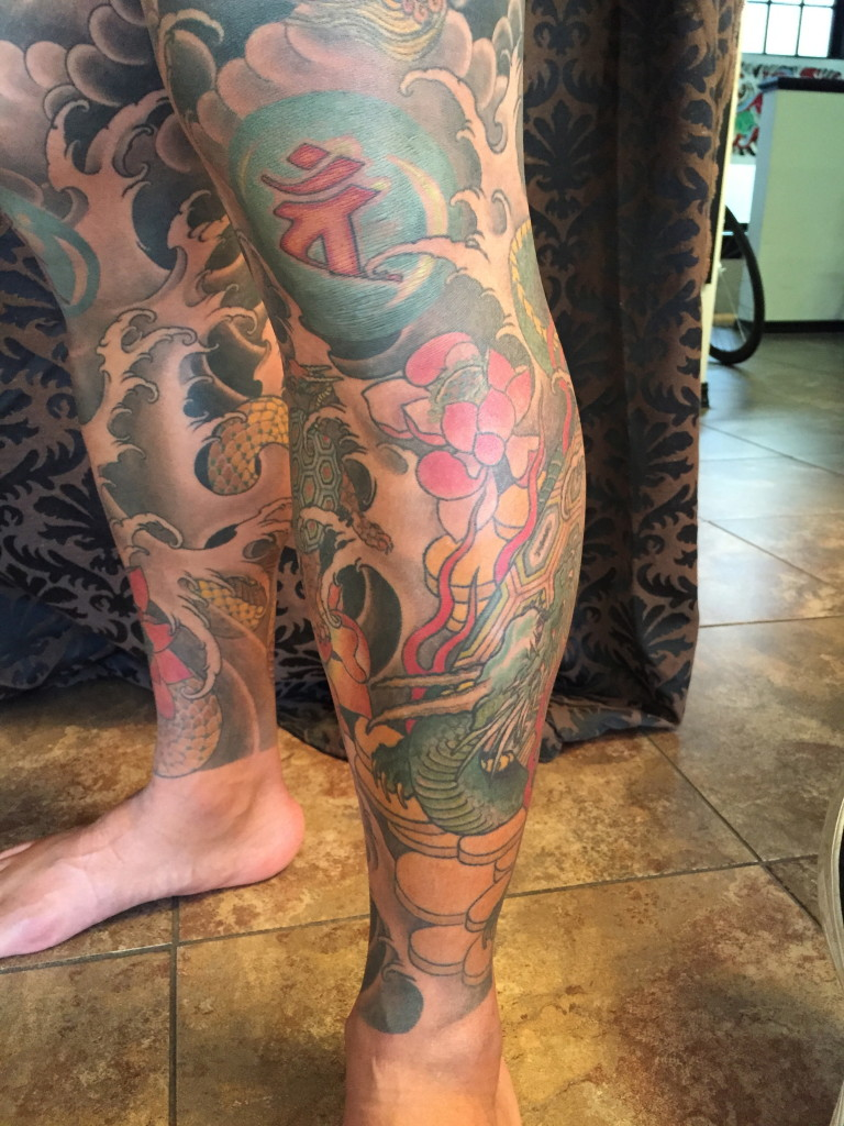 Phong's legs completed last year